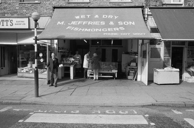Jeffries Fishmongers Caledonian Road, Islington