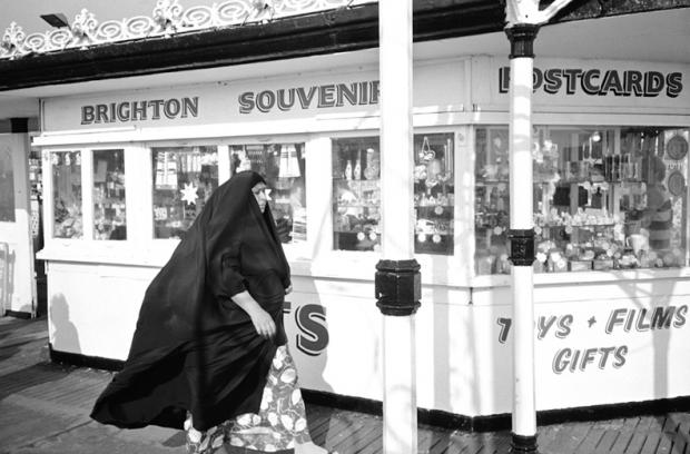 The souvenir shop on Brighton Pier
