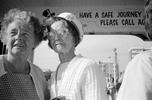 Women on Brighton Pier